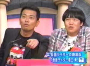 The look that Miyasako gets on his face when he's about to tell a joke