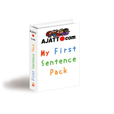AJATT My First Sentence Pack